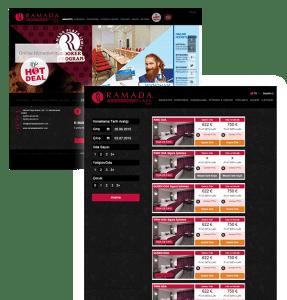 ramada rezervasyon sayfası