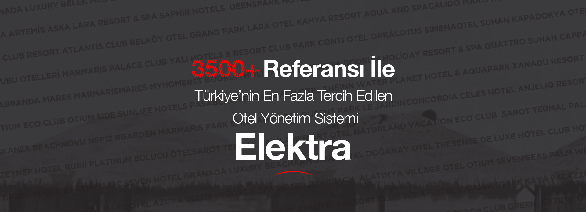 Elektra en çok tercih edilen otel programı
