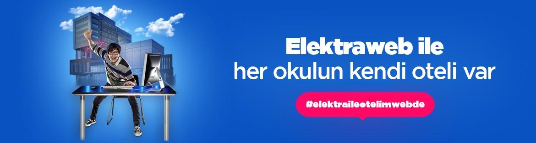Elektraweb okullar için ücretsiz otel programı
